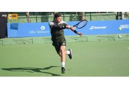 В финале теннисного турнира в Канберре Илья Ивашко встретится с поляком Гуркачем