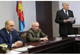 В УВД Брестского облисполкома поздравили с юбилеем бывшего начальника УВД
