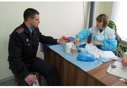 Добровольная сдача крови - Барановичский ГОВД