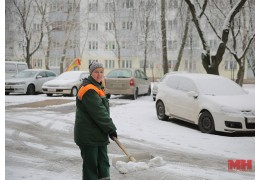 В МГЖХ рассказали, сколько техники и людей убирают дворовые территории