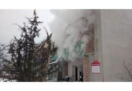 В Минском районе при пожаре в жилом доме спасены 8 человек