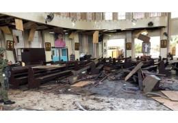 Количество пострадавших при взрывах у церкви в Филиппинах возросло до 111