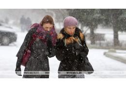Снег и гололедица ожидаются в Беларуси 29 января