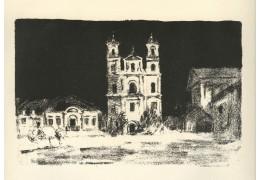 В Национальном художественном музее покажут работы учителя Марка Шагала