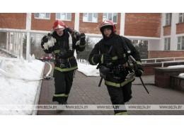 В Барановичах пострадавший при пожаре в жилом доме мужчина помещен в реанимацию