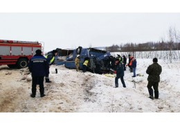 В Калужской области в ДТП с автобусом погибли 7 человек