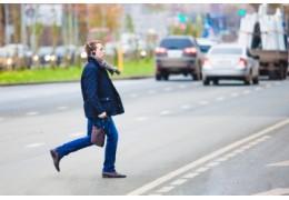 Более 20 ДТП с участием пешеходов случились в столице в январе