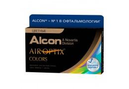 Цветные линзы AIR OPTIX COLORS на 1 месяц. Линзы на дом