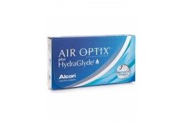 Контактные линзы Air Optix Plus HydraGlyde.