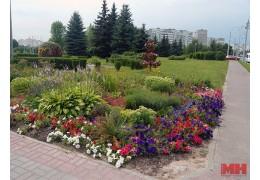 Миллион цветов, десятки тысяч деревьев и кустов