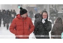 Мокрый снег и порывистый ветер ожидаются в Беларуси 12 февраля