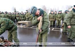 Около 1,4 тыс. человек призваны из запаса на время проверки Вооруженных Сил