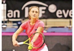 Александра Саснович проиграла в первом круге на турнире в Дохе