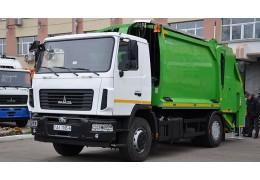 МАЗ поставит в этом году в города Беларуси более 80 мусоровозов