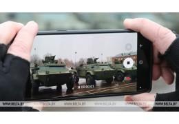 Новая техника поступила на вооружение витебских десантников