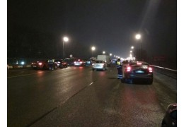 Один нетрезвый автолюбитель и 18 бесправников попались на МКАД за вечер
