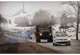 Минобороны: в ближайшие три дня на дорогах возможно появление военной техники