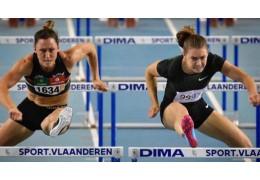 Алина Талай одержала победу на дистанции 60 м с барьерами в Бельгии