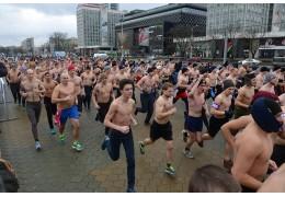 С голым торсом, но в шапке и варежках: в Минске пройдет «Забег настоящих мужчин»