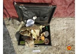 Портфель с боеприпасами нашли коммунальщики при сортировке мусора в Столине