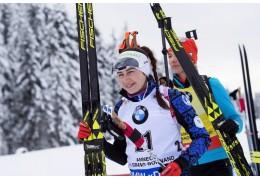 Ирина Кривко завоевала бронзовую медаль чемпионата Европы по биатлону