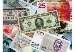 Доллар и евро продолжают снижение, курс российского рубля вырос по итогам торгов