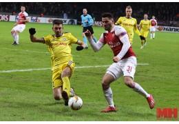 В Лондоне начался матч между БАТЭ и «Арсеналом»