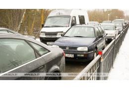 Движение транспорта в пунктах пропуска на границе с Литвой может быть затруднено