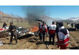 В Иране разбился медицинский вертолет, 5 человек погибли