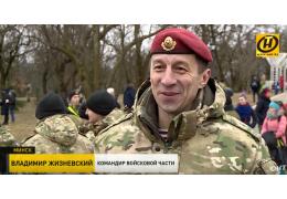 Забег в честь дня образования внутренних войск МВД в Минске