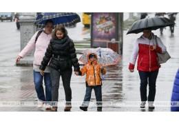 Кратковременные осадки ожидаются в Беларуси 24 марта