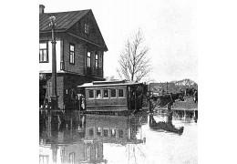 Повадки паводков: самые известные весенние разливы Свислочи первой половины ХХ в