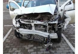 Джип протаранил бетонный забор в Минске – подробности ДТП