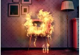 Что делать, если в квартире случился пожар, и как его правильно тушить