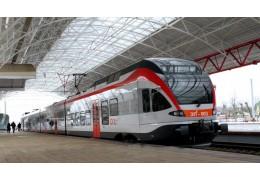 Беспроводной Интернет появился во всех поездах городских линий. Wi-Fi бесплатный