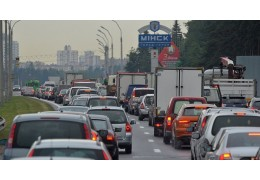 В Минске 8-балльные пробки — скорость движения на некоторых улицах 5-7 км/ч