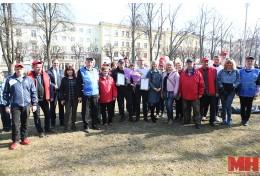 Профсоюзную кленовую аллею заложили в сквере возле Большого театра Беларуси