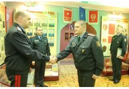 Новые погоны для правоохранителей - УВД Брестского облисполкома