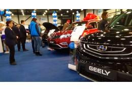 Белорусские Geely вызвали повышенный интерес на Петербургском автосалоне