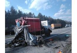 Барановичский район: в результате столкновения «фуры» травмированы два человека