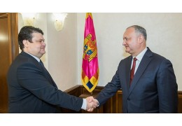 Президент Молдовы отметил активизацию сотрудничества с Беларусью
