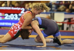 Белоруска Ксения Станкевич завоевала бронзу на чемпионате Европы по борьбе