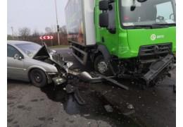 ДТП в Барановичах: в результате столкновения травмирован водитель «Опель Вектра»
