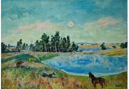 В музее Янки Купалы выставят неизвестные картины Бориса Аракчеева
