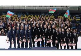 Белорусские гимнастки завоевали две награды на юниорском турнире в Баку