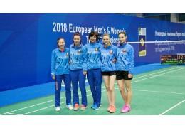 Белорусские бадминтонистки выиграли две бронзы на турнире в Хорватии