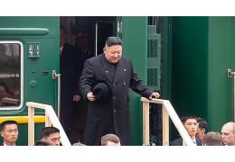 Ким Чен Ын прибыл в Россию