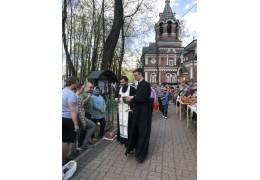 Великая суббота в храме святого Александра Невского.