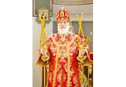 Митрополит Павел обратился к верующим с Пасхальным посланием