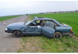 Водителя и пассажира «перевертыша» спасли ремни безопасности